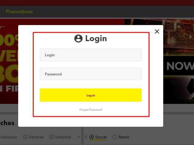 Access bet Login